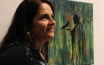 Mixed media artist showcases her unique work at Long Island City's Plaxall Gallery
